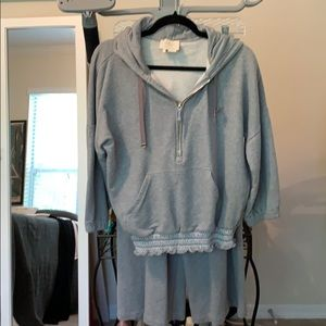Kate spade silver lining crop outfit